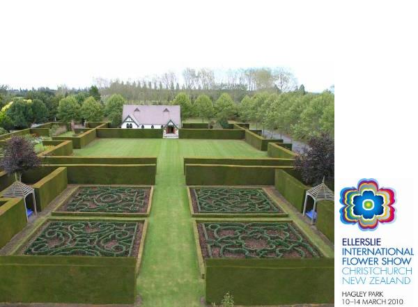 Canterbury s award winning gardens ellerslie for Canterbury landscape design