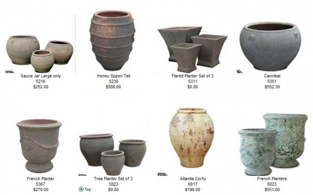 Selected Jars and Pots by Country Village