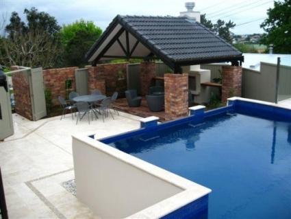 Landscape design showcase supplies central nz garden soil for Pool design auckland