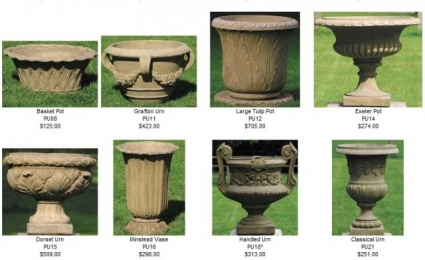 Pots and Urns by Country Village