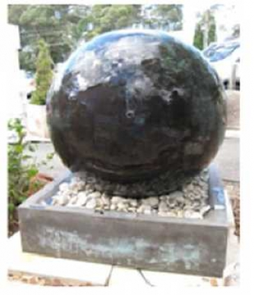 Sphere Fountain by Country Village